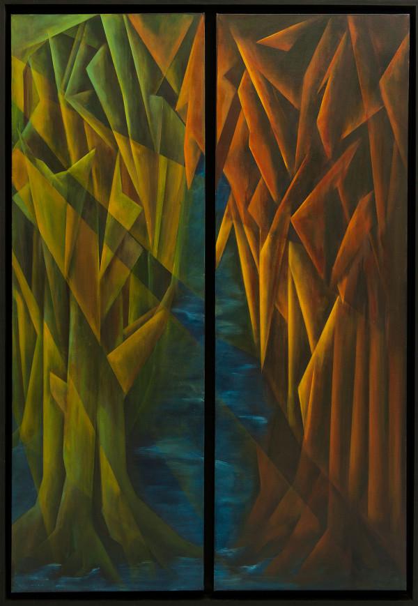Acryl op linnen 110 x 150